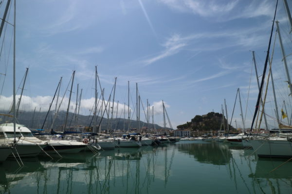 Harbour in Denia near Wheelchair Accessible Villa in Denia, Spain with Hoist, Pool, Profiling Beds