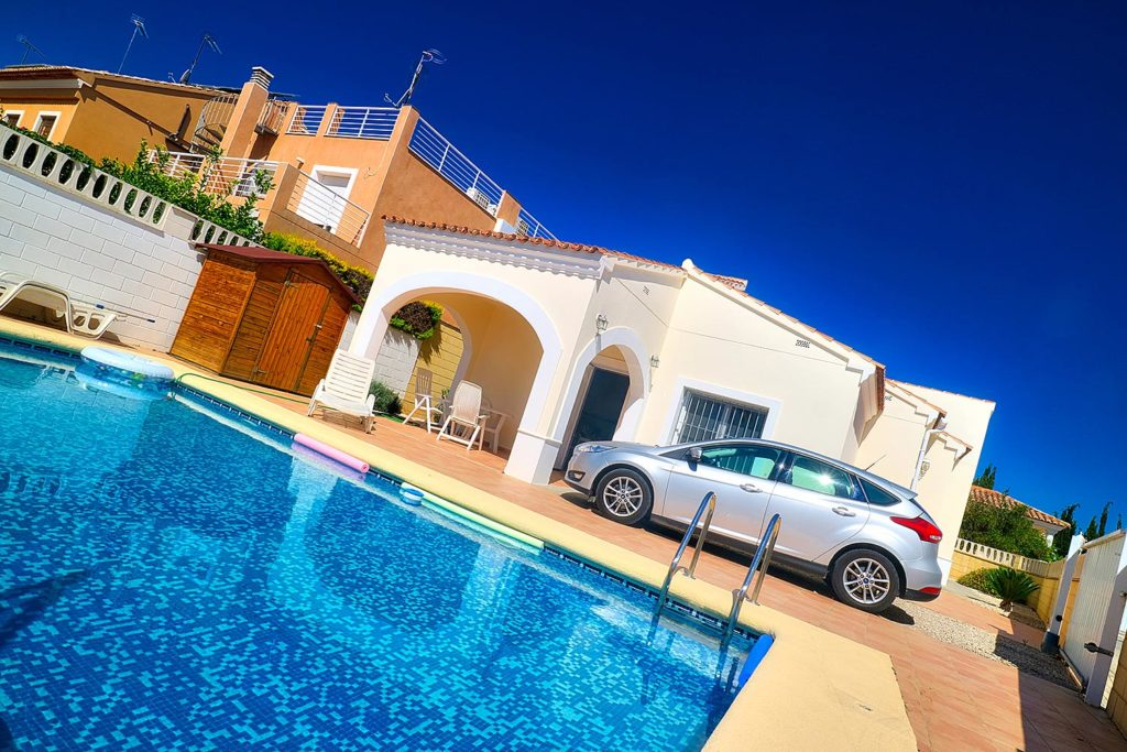 Wheelchair Accessible Villa in Denia, Spain with Hoist, Pool, Profiling Beds